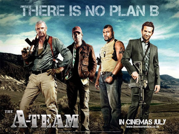 a team no plan b wide New A Team Posters: Same Guys, Slightly Different Poses