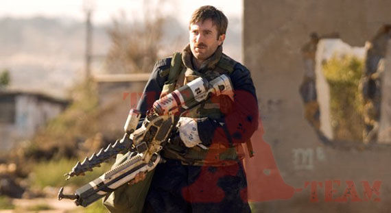 a team sharlto copley as howling mad murdock District 9s Sharlto Copley as The A Teams Murdock?