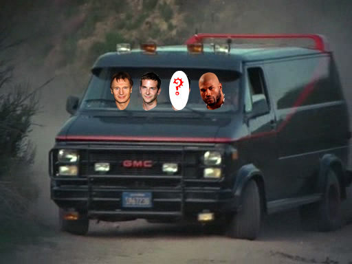 a team van The A Team Picks Its B.A. Baracus   But Still No Murdock