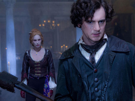 abelincolnusatoday2 Erin Wasson and Benjamin Walker in Abraham Lincoln: Vampire Hunter