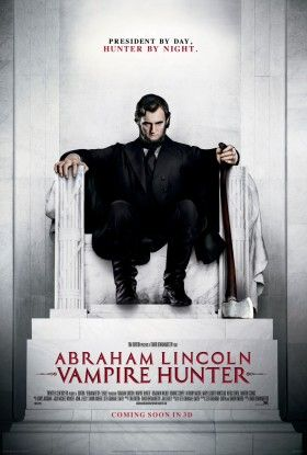 abraham lincoln vampire hunter nouveau poster xl 280x415 Abraham Lincoln: Vampire Hunter International Poster & Featurette
