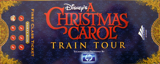 acc header All A Bored Disney's A Christmas Carol Train Tour