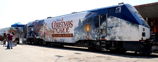 acc pic01 All A Bored Disney's A Christmas Carol Train Tour