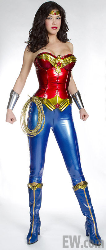 adrianne palicki wonder woman nbc1 Adrianne Palickis Wonder Woman Costume Revealed