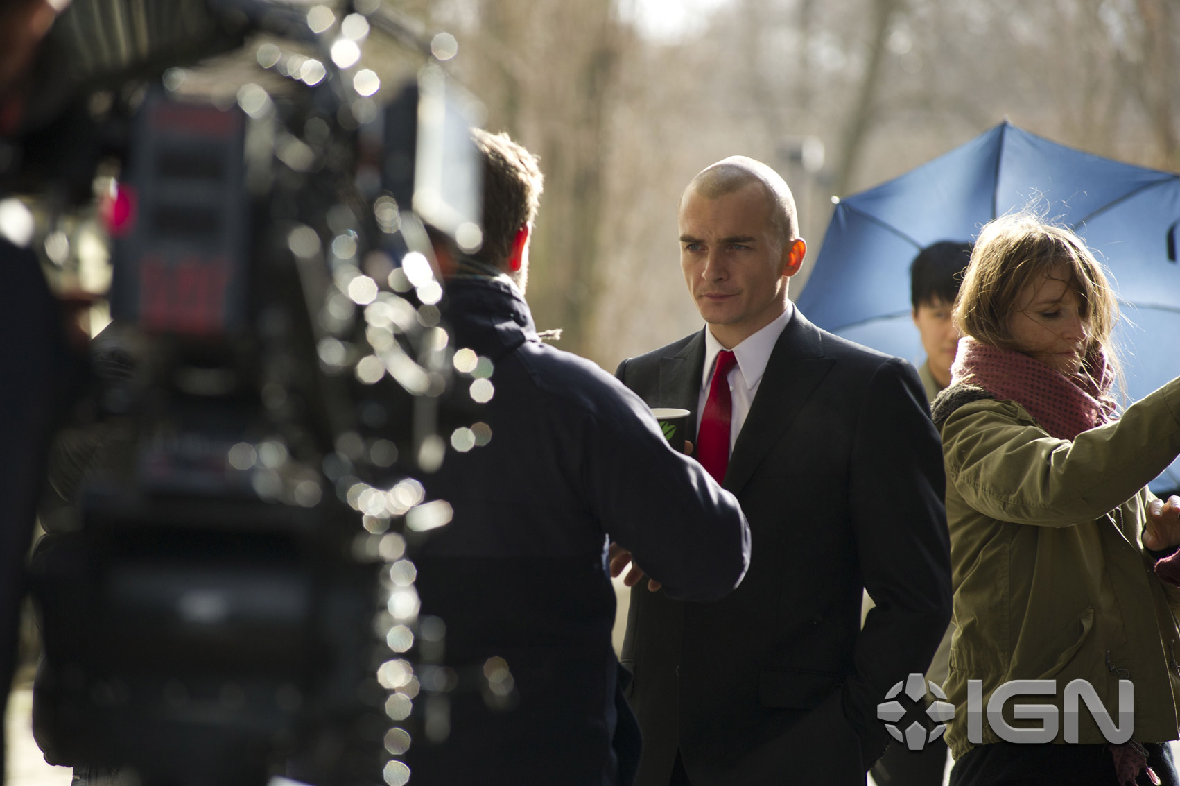 first agent 47 image released as hitman reboot nears. Black Bedroom Furniture Sets. Home Design Ideas