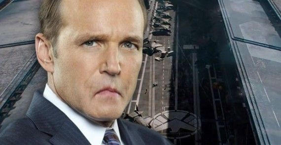 agents of shield coulson sad 570x294 Does the Captain America 2 Trailer Prove Agents of S.H.I.E.L.D. Has Failed?