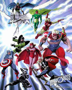 alex ross avengers Marvel Announces The Avengers... Cartoon
