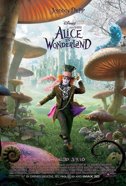 alice in wonderland banner 3 Poster Friday: Avatar, Kick Ass, Lost, Salt & More!