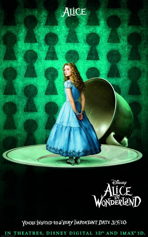 alice in wonderland character poster 1 Alice in Wonderland character poster1