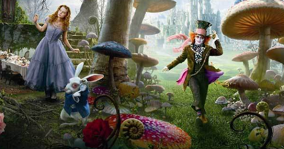 alice in wonderland Sacha Baron Cohen in Talks to Play Alice in Wonderland 2 Villain