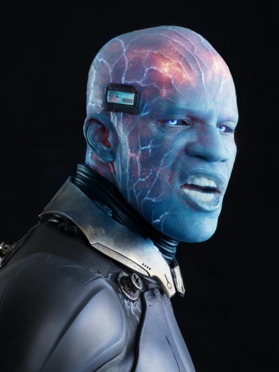amazing spider man 2 electro1 570x760 Jamie Foxx as Electro in Amazing Spider Man 2
