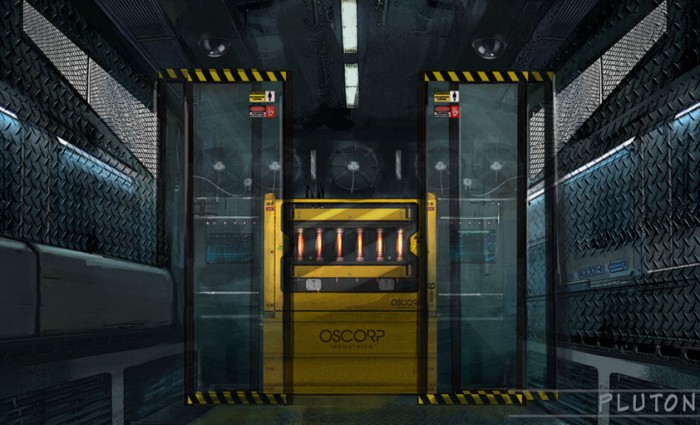amazing spider man 2 plutonium vault 700x425 New Amazing Spider Man 2 Oscorp Featurette, Images and Concept Art