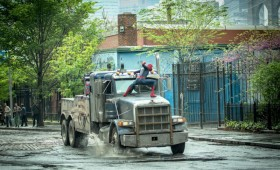 amazing spider man 2 rhino truck2 280x170 The Amazing Spider Man 2 Trailer: Peter Parkers Greatest Battle Begins