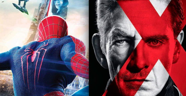 amazing spider man 2 x mend days future past images New Amazing Spider Man 2 and X Men: Days of Future Past Images
