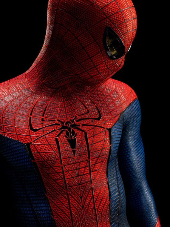 amazing spider man 570x760 The Amazing Spider Man Costume