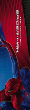 amazing spider man banner 3 117x430 The Amazing Spider Man International Banners Are Bright & Flashy