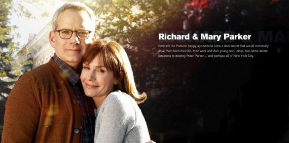 amazing spider man richard mary parker 570x282 Richard and Mary Parker in The Amazing Spider Man