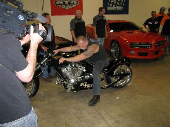 american chopper orange county choppers trans bike 570x427 American Chopper: Senior vs. Junior Season 2: Featured Bikes & OCCs Foreclosure Plans [Updated]