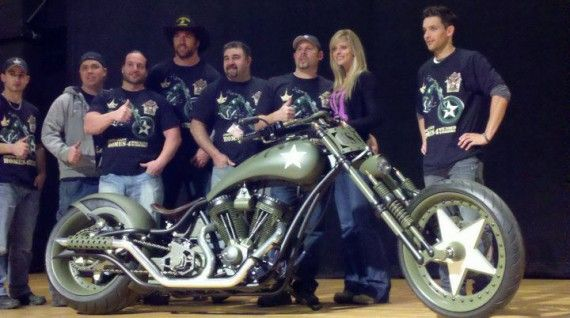 american chopper paul jr designs wounded warriors bike 570x318 American Chopper: Senior vs. Junior Season 2: Featured Bikes & OCCs Foreclosure Plans [Updated]