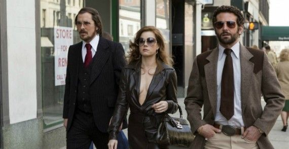 american hustle christian bale amy adams bradley cooper 570x294 2014 Oscar Nominations Announced   Were There Any Surprises?