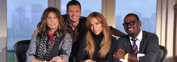 american idol press picture Steven Tyler Talks American Idol, Aerosmiths Future & Jennifer Lopez