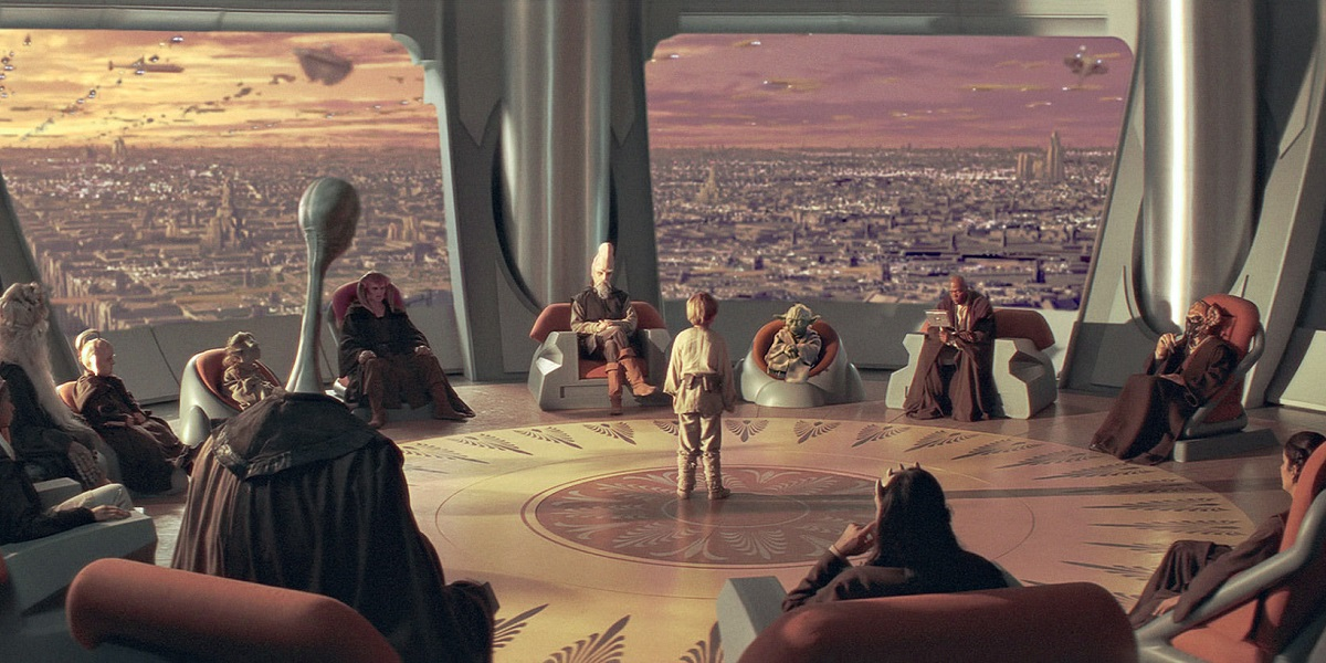 Resultado de imagem para phantom menace jedi council