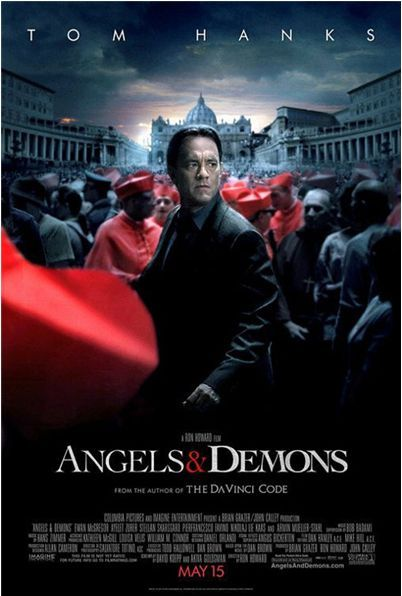angels demons poster1 The Latest Batch O Movie Posters