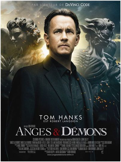 angels demons poster2 The Latest Batch O Movie Posters