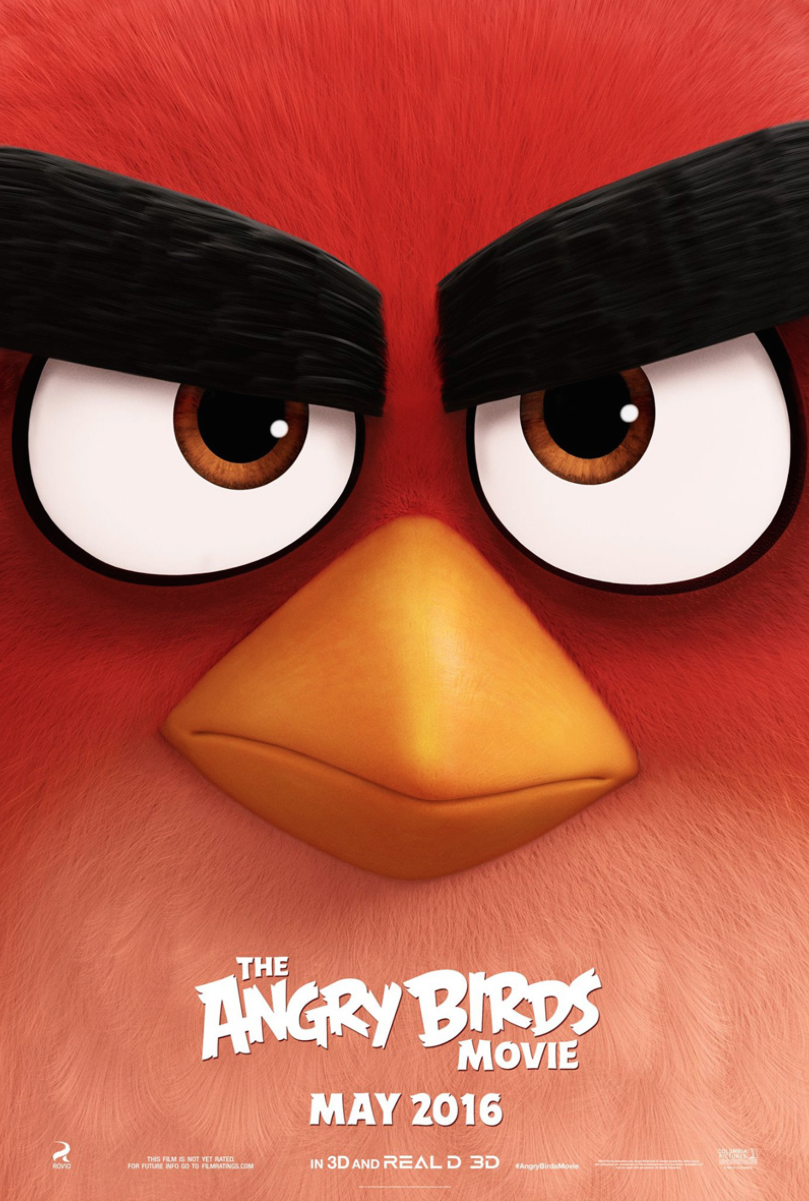Angry Bird Poster Movie