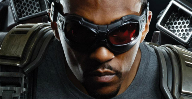 anthony mackie falcon human torch Anthony Mackie Talks The Falcon & Defends Human Torch Casting