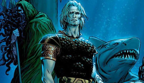 aquaman comic cover art Aquaman Movie Happening... After Wonder Woman & The Flash