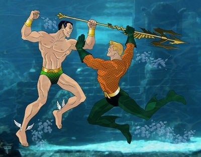 aquaman vs namor Aquaman Movie Happening... After Wonder Woman & The Flash