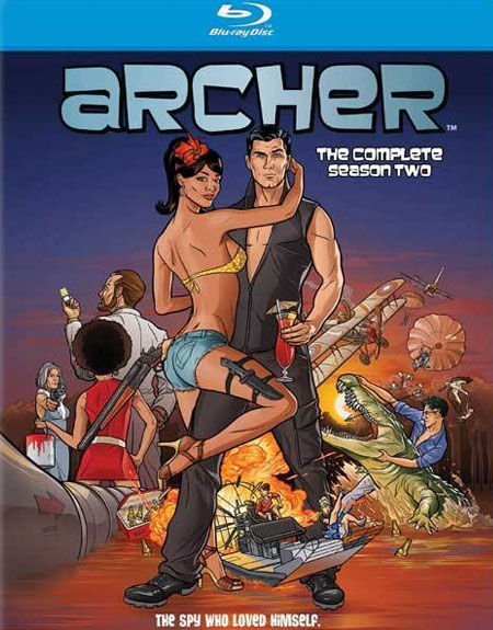 archer season 2 blu ray cover Interview: Chris Parnell Talks SNL, Archer & Five Year Engagement