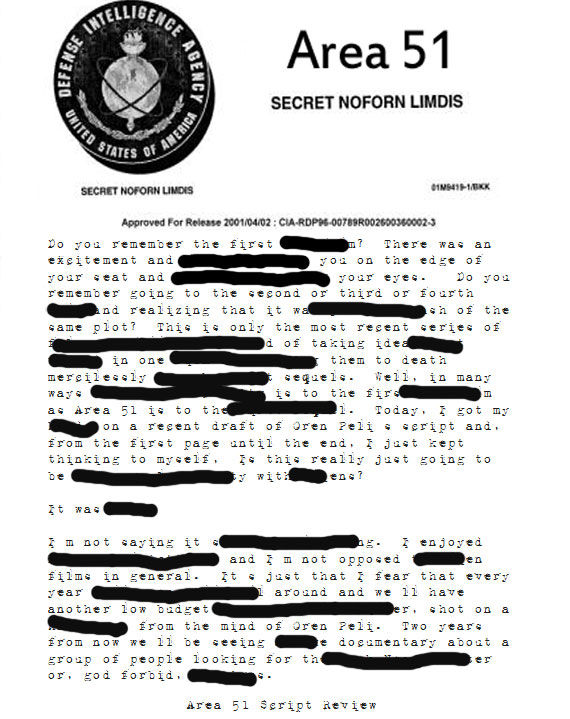 top secret 39area 5139 documents released to the public With area 51 classified documents released