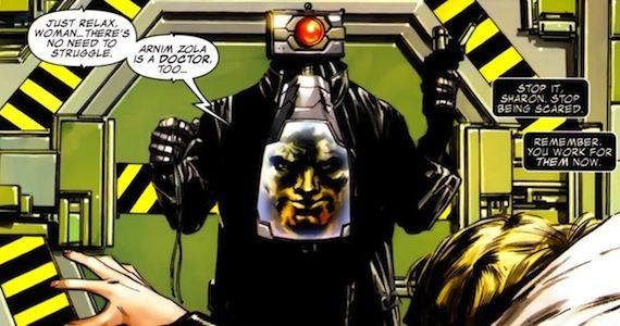 Toby Jones as Arnim Zola in Captain America