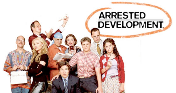 arrested development family circled logo Final Arrested Development Season 4 Poster Reveals the Bluths