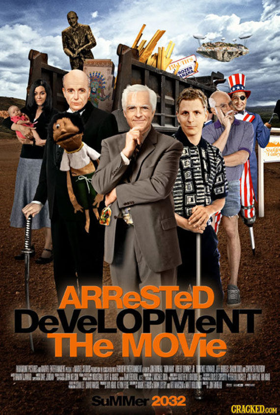 arrested development poste Movie Poster Roundup: Fast Five, Thor, X Men: First Class & More