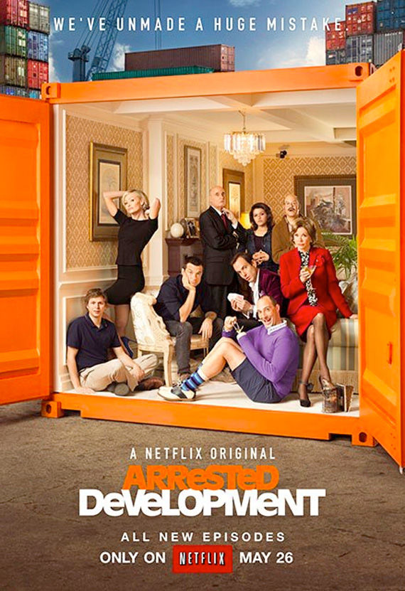 arresteddevelopment unmademistakeposter Final Arrested Development Season 4 Poster Reveals the Bluths