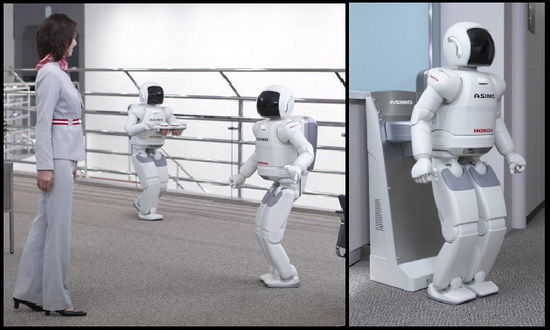 asimo evolution The Technology Of Science Fiction Is Here Now