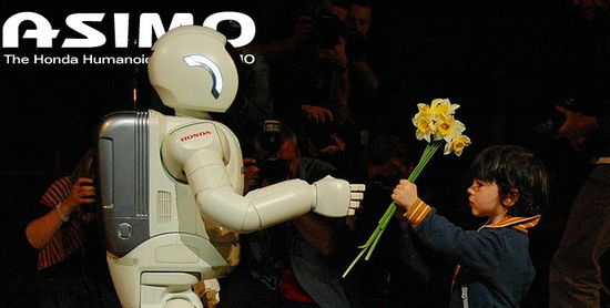 asimo meeting child The Technology Of Science Fiction Is Here Now