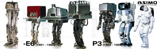 asimo sample lineage p The Technology Of Science Fiction Is Here Now