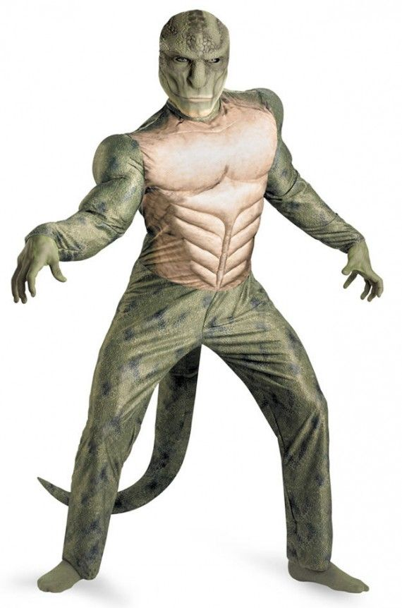 asmcostume2 570x862 The full Amazing Spider Man Lizard costume
