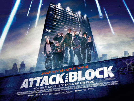 attack the block movie poster Movie Poster Roundup: Rubber, Rio, True Legend, Super & More