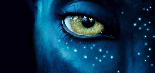 avatar new poster header New Avatar Poster: Zoe Saldana Beautiful in Blue