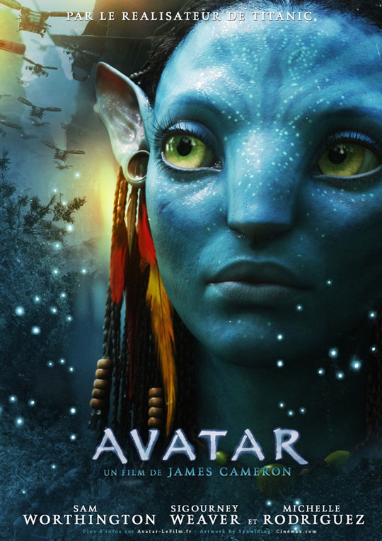 avatar poster french Poster Friday: Avatar, Kick Ass, Lost, Salt & More!