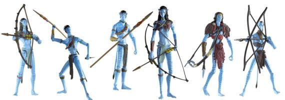 avatar toy line image1 Avatar Video Game Trailer & Toy Images