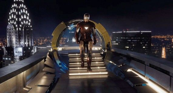 avengers 2175 570x306 Iron Man in Stark Tower in The Avengers