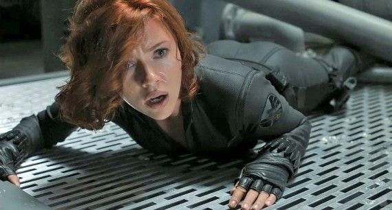 avengers 2275 570x306 Black Widow in The Avengers