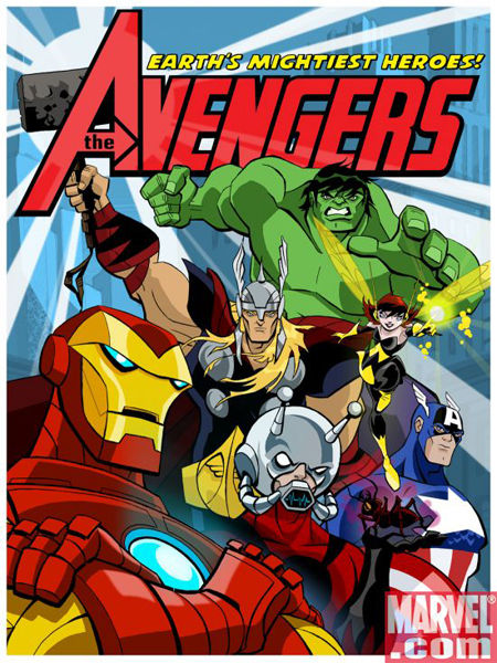 avengers cartoon Marvel Announces The Avengers... Cartoon