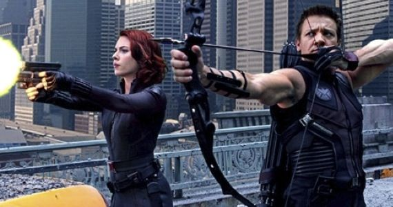avengers hawkeye black widow Jeremy Renner Hoping To Explore Hawkeye More in The Avengers 2